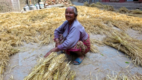 Changu - Wheat woman