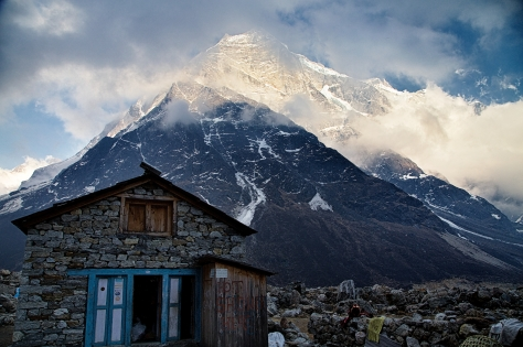 Tagnak is a stunningly beautiful place surrounded by peaks up to 23,000 ft.