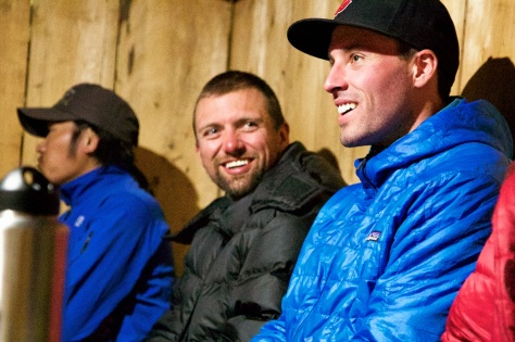 Matt and Andrew tell stories of the summit.