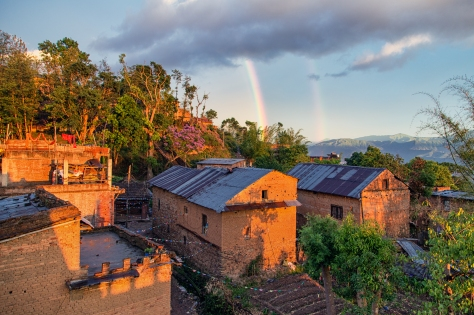 ©Luke Mislinski - Double rainbow over Changu Narayan